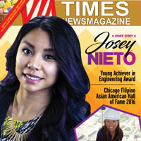 JOSEY NIETO, 2016 Chicago Filipino American Hall of Fame Young Achiever in Engineering