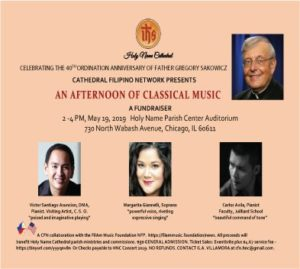 FilAm Music Foundation Collaborates with the Cathedral Filipino Network (CFN)