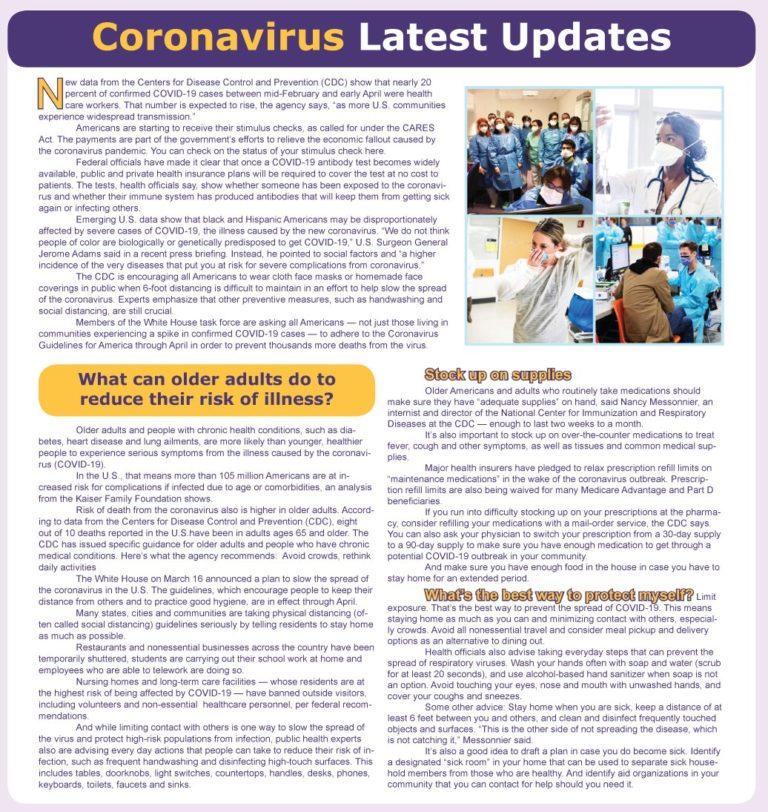Coronavirus Latest Updates
