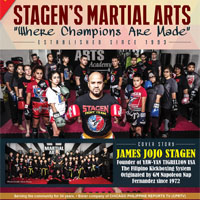 "Stagen's Martial Arts ""Where Champions Are Made"" Established Since 1993"