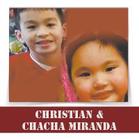 Christian & ChaCha Miranda