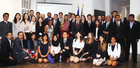 PH Embassy Celebrates ASEAN@50, Shares PH Culture With Young Global Leaders