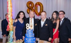 Mer Tan's 80th Birthday Celebration | Four Points Marriott Hotel – July 27, 2019