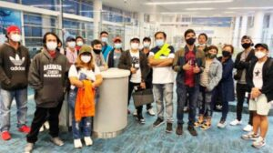 205 Filipinos From Cayman Islands, The Bahamas & Bvi Repatriated Thru 2nd Airbridge Flight Via London