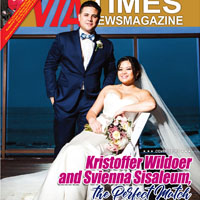 A Leap of Faith, A Walk of Love Down The Aisle for Kristoffer Wildoer and Svienna Sisaleum