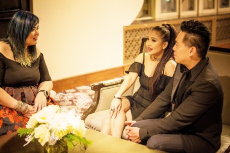 Talkin' Personal with Filipino celebrities, Sheryn Regis and Joel