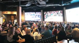 Launch Party Night of The Draft Room included complimentary food, drinks & prizes