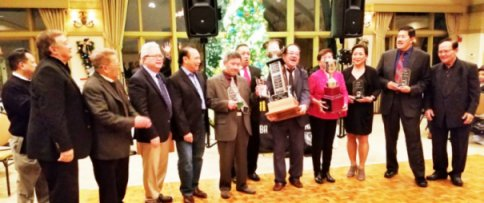 Asian American Golf Awards Banquet Night November 30, 2018 – Bloomingdale Golf Club