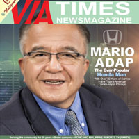 MARIO ADAP HONDA'S 'MAN OF THE HOUR' in the Filipino American Community in Chicagoland
