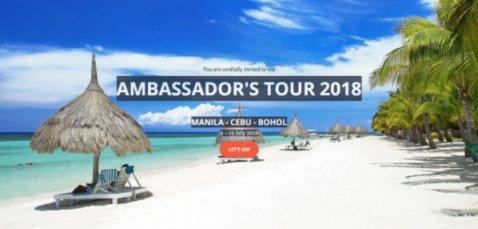 12th Ambassador's Tour Lauched in Washington, US Southeast