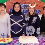 Janet Guinsatao's 52nd Superbowl Birthday Celebration Held at Bay Colony Clubhouse with family and friends