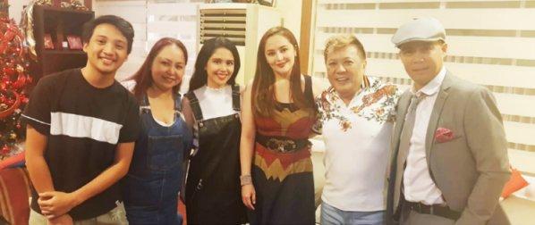 Direk Gerry Rebello's Meet-Ups with Showbiz Friends in his Philippine Visit