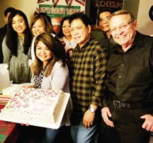 Super Bowl Birthday Celebrant Janet Guinsatao is as old as the Superbowl (LIV)! Happy birthday, Janet, may you have many more Super Bowl birthdays to come!