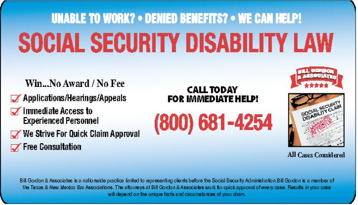 Social Security Disability Law | VIA Times – January 2017 Issue