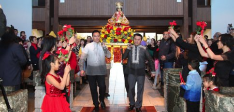 Santo Nino de Cebu Fiesta and Sinulog Festival Sa Chicago January 13, 2018 at Holy Family Parish Church, Invernes, IL (Photos by: Rosie Reed)