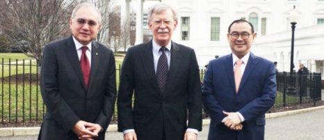 Foreign Affairs Secretary Locsin, US NATL Security Advisor John Bolton Meet in Washington