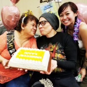 Mariquit Bacatan Divinagracia's Combo Celebration Her 65th Birthday & 27th Wedding Anniversary (with husband Ulysses) January 7, 2019 at her Skokie Residence, Attended by her many relatives and friends