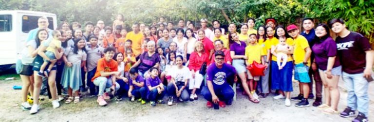 Bacatan Clan Reunion in the Philippines on December 24, 2019 Held at Rosamaria Bacatan's Home in Pulilan, Bulacan