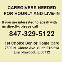 CAREGIVERS NEEDED FOR HOURLY AND LIVE-IN