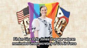 President Biden nominates Filipino American Gina Ortiz Jones as Undersecretary of U.S. Air Force