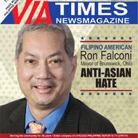 FILIPINO AMERICAN Ron Falconi MAYOR of Brunswick, Ohio ON ANTI-ASIAN HATE