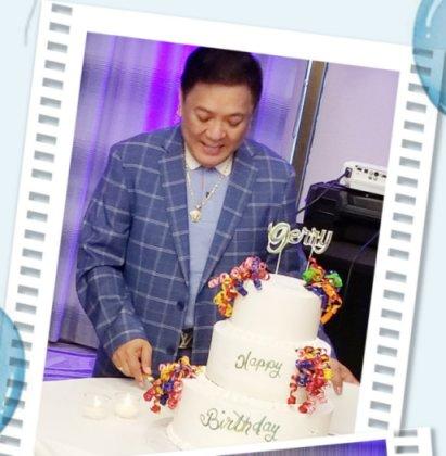 "Happy Birthday ""DIREK"" GERRY REBELLO May 16, 2021 Doubletree Hotel Skokie"