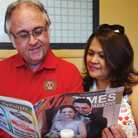 Dale Tippett and Lorna Villarias Brinson