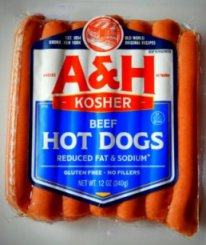Abeles & Heymann (A&H) Hot Dogs