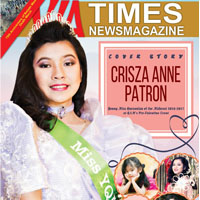 Crisza Anne Patron Miss Young Quezonian of the Midwest