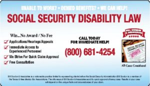 Social Security Disability Law