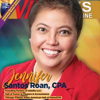 Jennifer S. Roan, C.P.A. One of the Founding Partners of Adelfia L.L.C. Hall of Fame Inductee in Finance & Accountancy Chicago Filipino Asian American Hall of Fame 2018