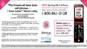 Jitterbug Flip Cell Phone