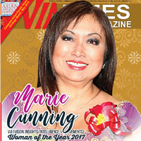 Marie Cunning VIA(Vision, Insights/Intelligence, Achievements) Woman of the Year 2017