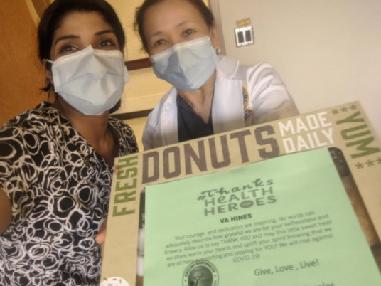 CN to VA Hines Donuts