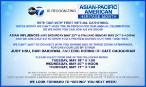 ASIAN PACIFIC AMERICAN HERITAGE MONTH Activities