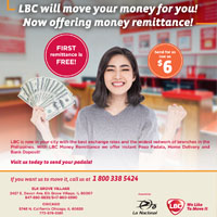 LBC will move your money for you! Now offering money remittance!
