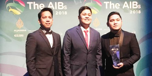 GMA Network's Philippine Seas wins at prestigious AIBs in London, Reel Time's 'Batang Maestro', highly commended