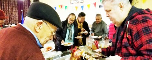 Early Thanksgiving Dinner at the Filipino American Council of Chicago (FACC)