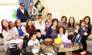 Surprise Joint Birthday Party in Honor of Angie Jacala and Tita Ang Hosted by Mariquit & Ulysses Divinagracia of Skokie, IL