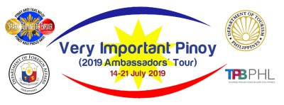 2019 VERY IMPORTANT PINOY TOUR (AMBASSADOR'S TOUR) LAUNCHED IN THE UNITED STATES