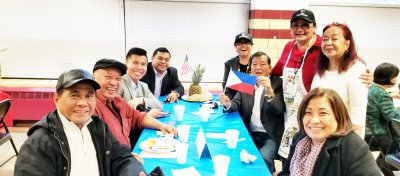 Cathedral Filipino Network Breakfast Inaugural