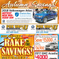 Fox Valley Autumn Savings
