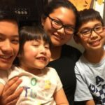 Rivas siblings, from left to right, David, Isabella, Nichle & Rafael Rivas. Parents: Jaime and Chie Rivas.