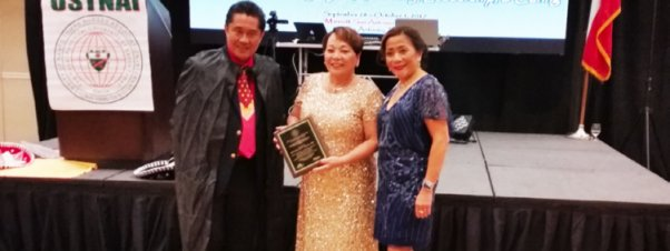 Photo News: Chicago's Nora Tsai Receives Humanitarian Award from USTNAI in San Antonio, Texas