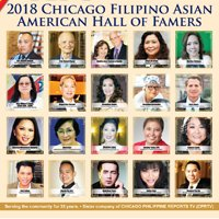 2018 Chicago Filipino Asian American Hall of Famers
