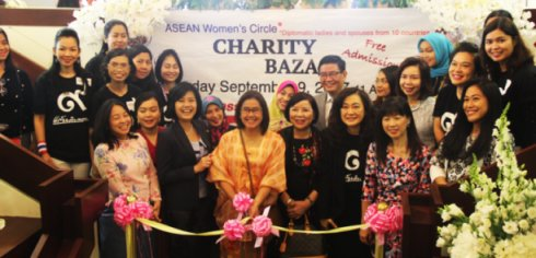 ASEAN Women's Circle Holds Charity Bazaar in DC