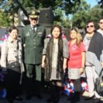 MAYWOOD, ILLINOIS HONORS SOLDIERS FROM 192ND TANK BATALLION, WWII DURING THE MAYWOOD BATAAN DAY 76TH ANNUAL MEMORIAL SERVICE