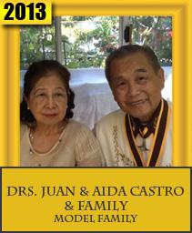 DRS. JUAN & AIDA CASTRO & FAMILY – MODEL FAMILY