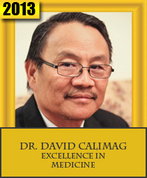 DR. DAVID P. CALIMAG EXCELLENCE IN MEDICINE