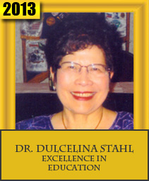 DR. DULCELINA STAHL EXCELLENCE IN EDUCATION